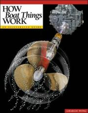 Cover of: How boat things work