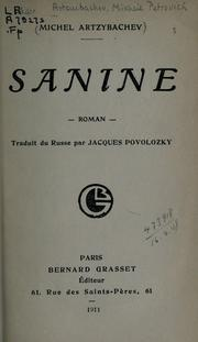Cover of: Sanine