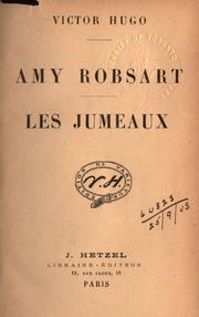 Cover of: Amy Robsart: Les jumeaux.