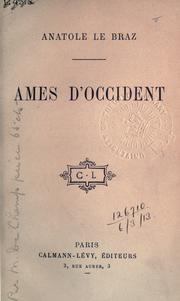 Cover of: Ames d'occident