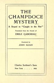 Cover of: The Champdoce Mystery