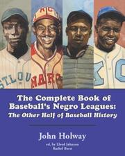 Cover of: The complete book of baseball's Negro leagues