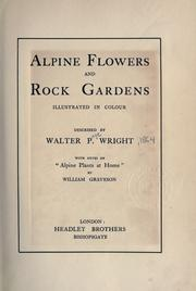 Cover of: Alpine flowers and rock gardens illustrated in colour
