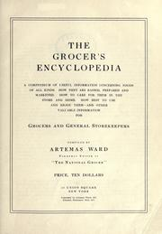 Cover of: The grocer's encyclopedia