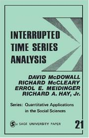 Cover of: Interrupted time series analysis