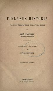 Cover of: Finlands historia