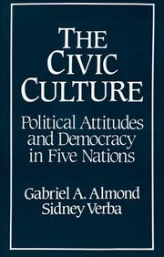 The civic culture by Gabriel A. Almond