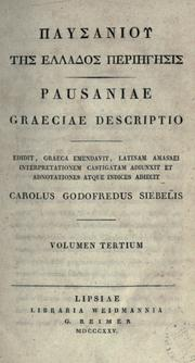 Description of Greece by Pausânias (Pseudonym)
