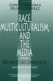 Cover of: Race, multiculturalism, and the media