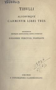 Albius Tibullus Open Library