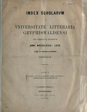 Cover of: Commentariolum grammaticum