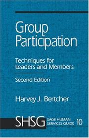 Cover of: Group Participation | Harvey J. Bertcher