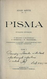 Cover of: Pisma