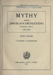 Cover of: Mythy