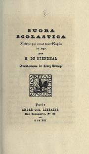 Cover of: Suora Scolastica