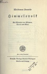 Cover of: Himmelsvolk