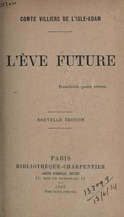 Cover of: L' Ève future