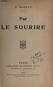 Cover of: Par le sourire