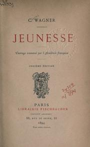 Cover of: Jeunesse. --
