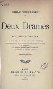 Cover of: Deux drames