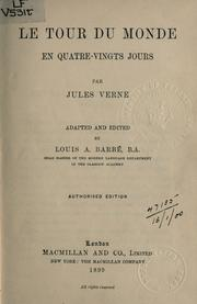 Cover of: Le tour du monde en quatre-vingts jours by Jules Verne