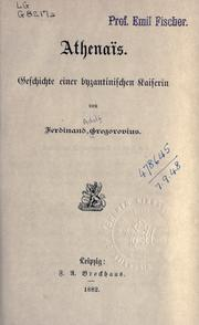 Cover of: Athenaïs