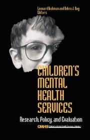 Children's Mental Health Services by