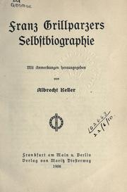 Cover of: Selbstbiographie: mit Anmerkungen