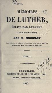 Cover of: Mémoires