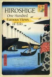 Cover of: One hundred famous views of Edo