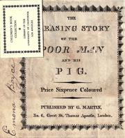 Cover of: The pleasing story of the poor man and his pig by
