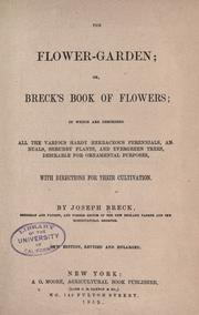 Cover of: The flower garden