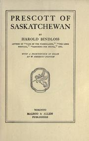 Cover of: Prescott of Saskatchewan |