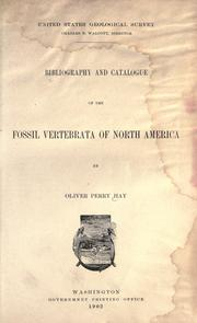 Cover of: Bibliography and catalogue of the fossil vertebrata of North America