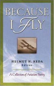 Cover of: Because I fly |