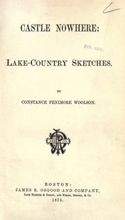 Cover of: Castle Nowhere: lake-country sketches