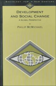 Cover of: Development and social change | Philip McMichael