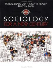 Cover of: Sociology for a new century