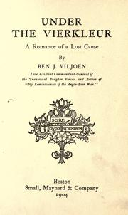 Cover of: Under the vierkleur: a romance of a lost cause