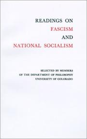 Cover of: Readings On Fascism
