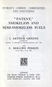 "Cover of: ""Patent"", smokeless and semi-smokeless fuels"