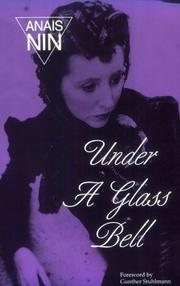 Cover of: Under a glass bell,and other stories
