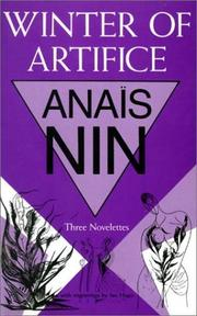 Cover of: The Winter of Artifice
