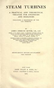 Steam turbines by Moyer, James Ambrose