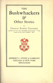 Cover of: The bushwhackers & other stories