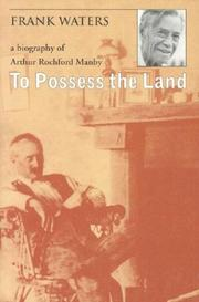 Cover of: To possess the land | Waters, Frank