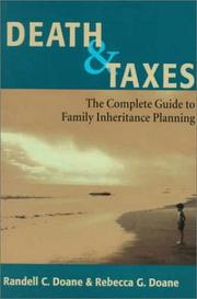 Cover of: Death & taxes