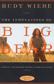 Cover of: The temptations of Big Bear