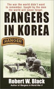 Cover of: Rangers in Korea
