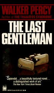 Cover of: The last gentleman